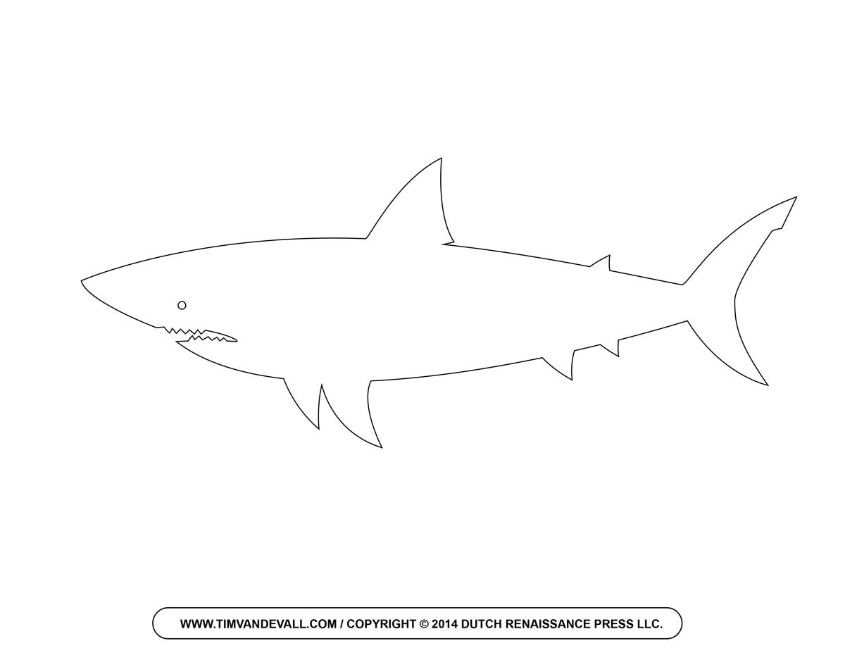 Pin on valentine s. Clipart shark template