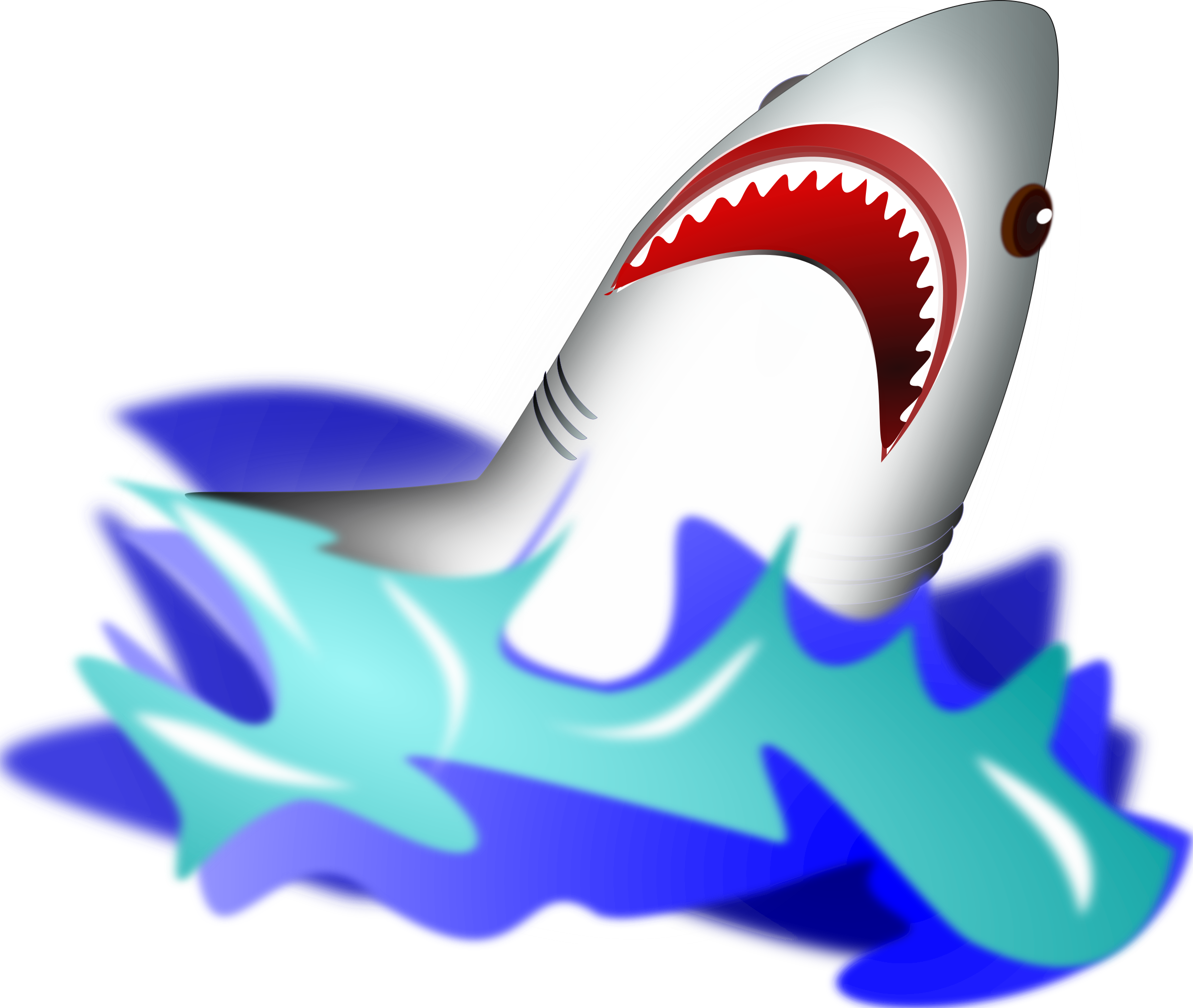 Water clipart shark. Icons png free and