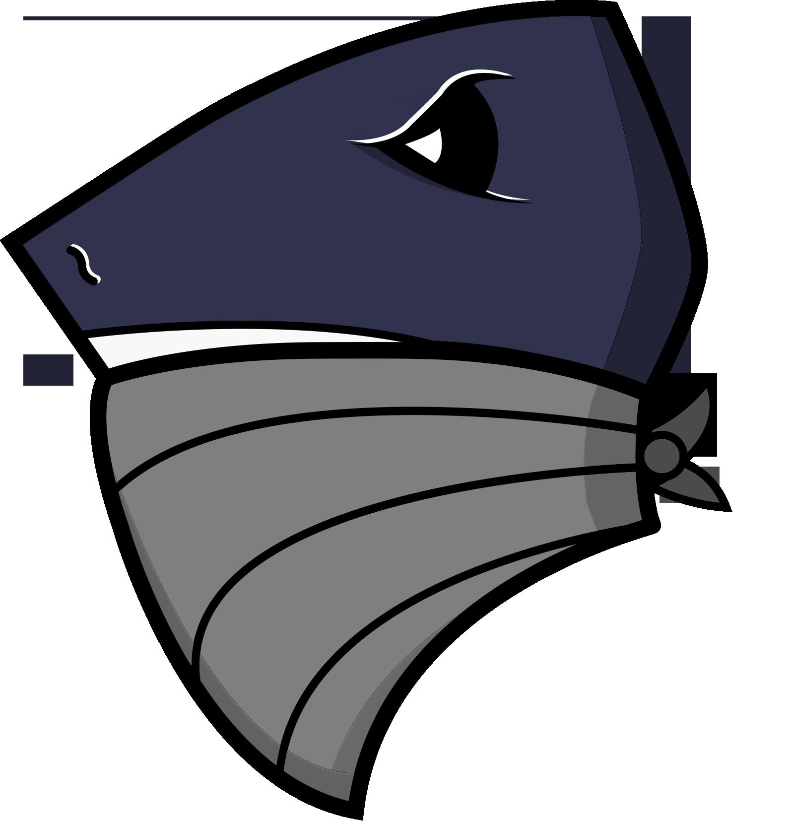 Clipart shark vector. American football style logo
