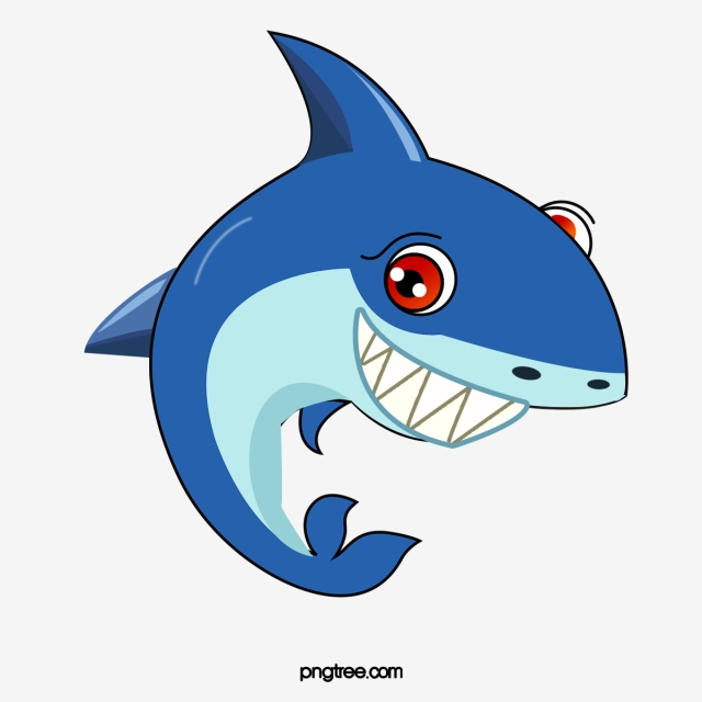 Png psd and with. Clipart shark vector