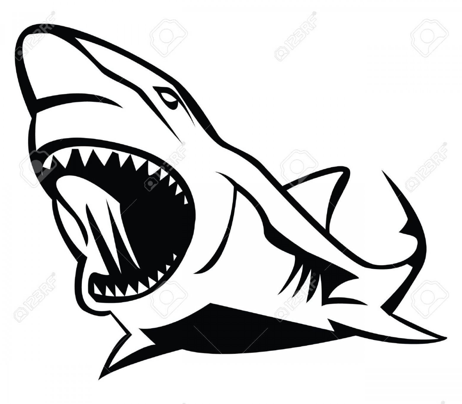 Unique toons images design. Clipart shark vector