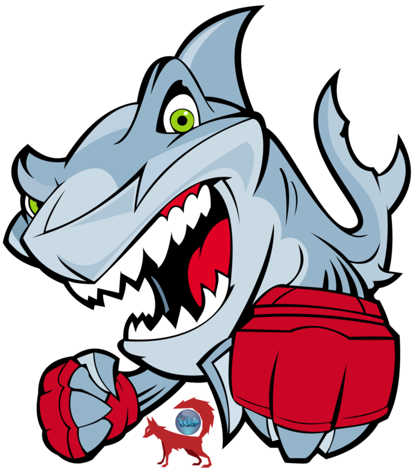 Clipart shark vector. Fighter by fokito on