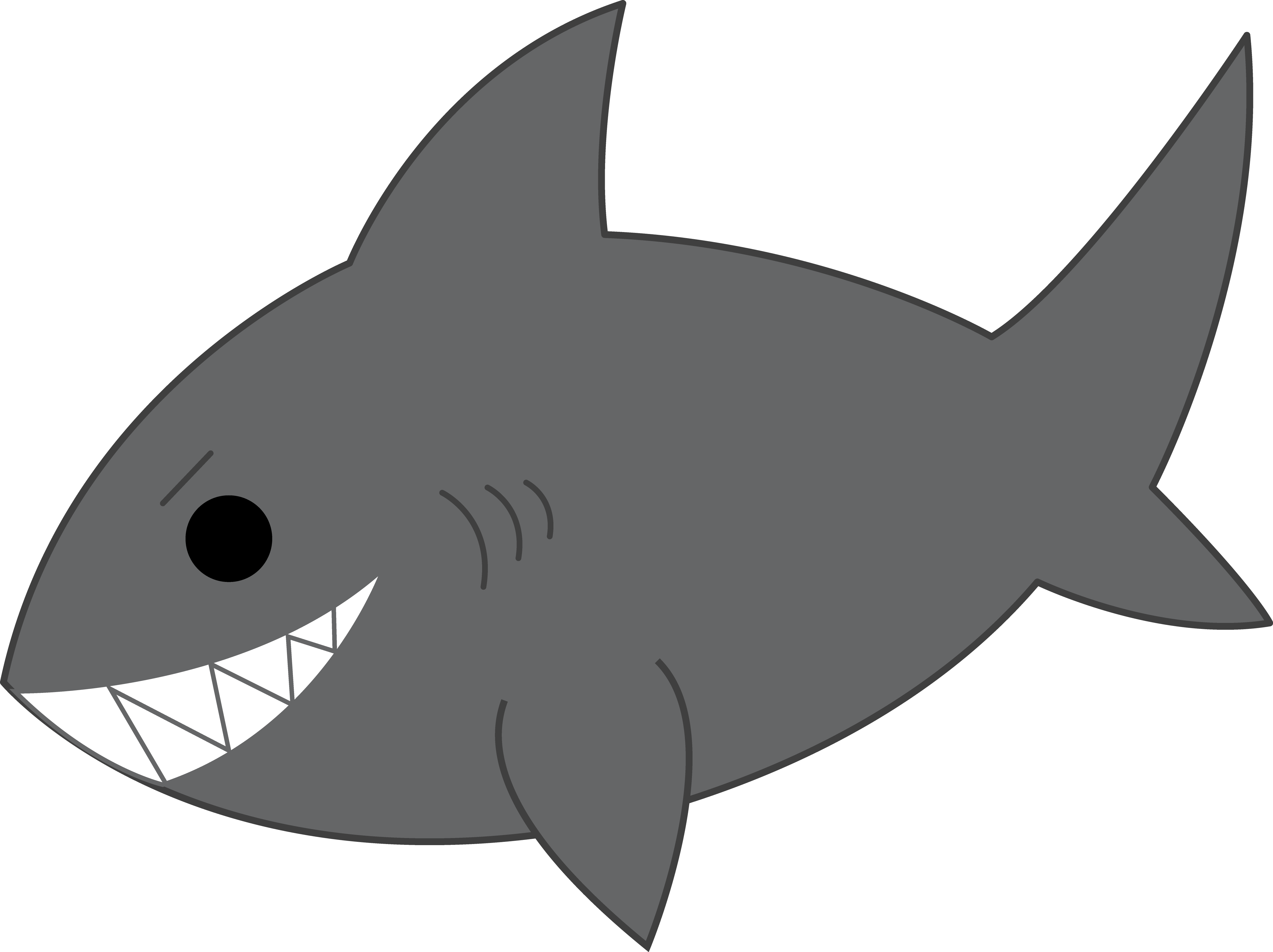 Clip art images panda. Orange clipart shark