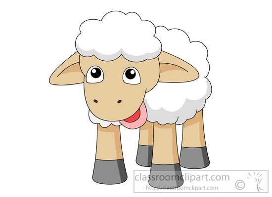 Clipart sheep. Free clip art pictures