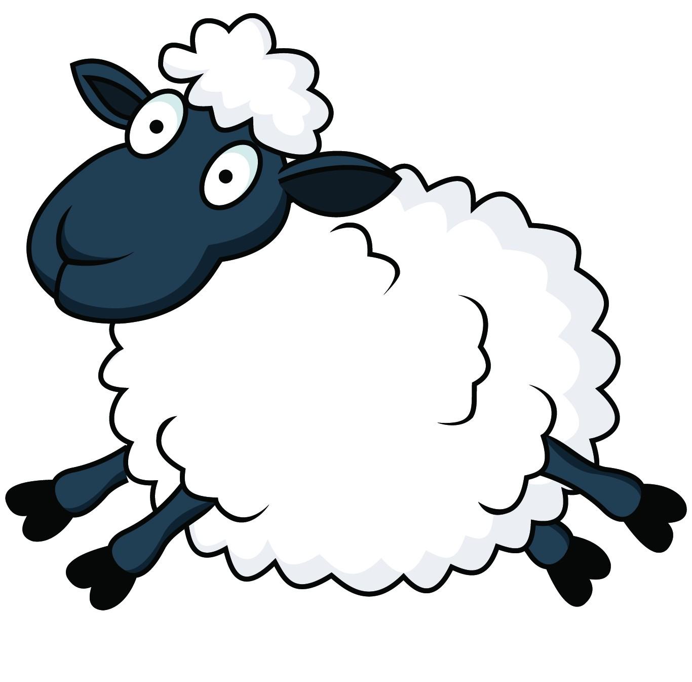 sheep clipart crazy
