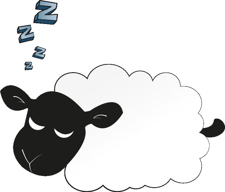 Sheep clipart asleep. Sheepie sleepy sleeping