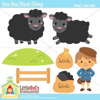 Lamb clipart baa baa black sheep. Clip art