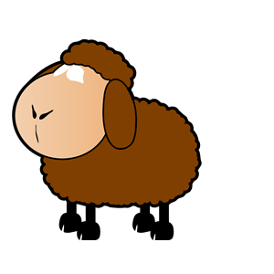 Cliparts of free download. Clipart sheep brown sheep