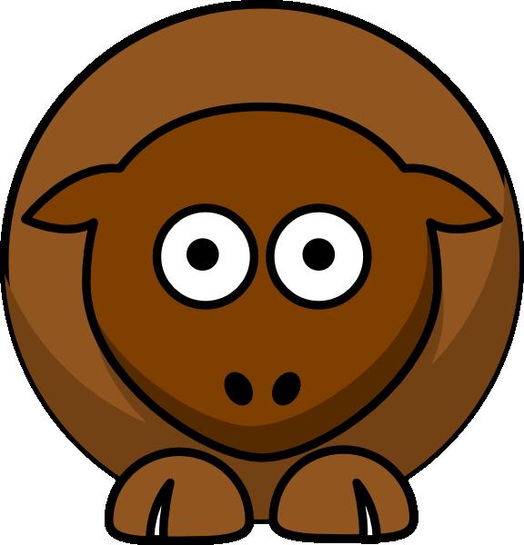 Clipart sheep brown sheep. Chocolate browns clip art
