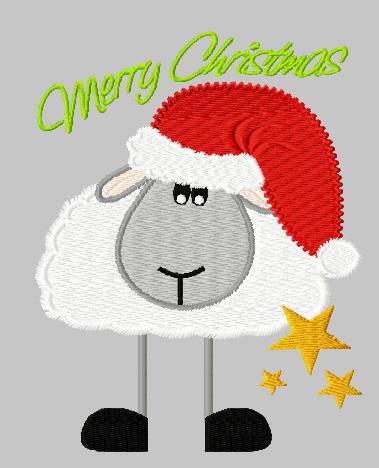 sheep clipart winter