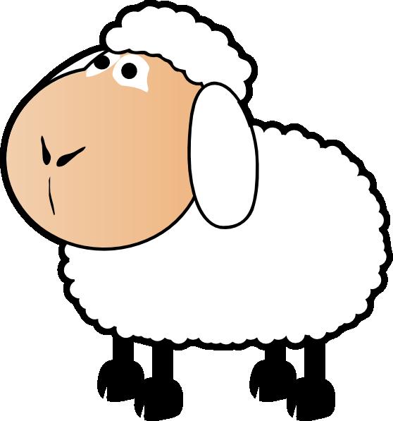 Lamb clipart manger. Flock of sheep coloring