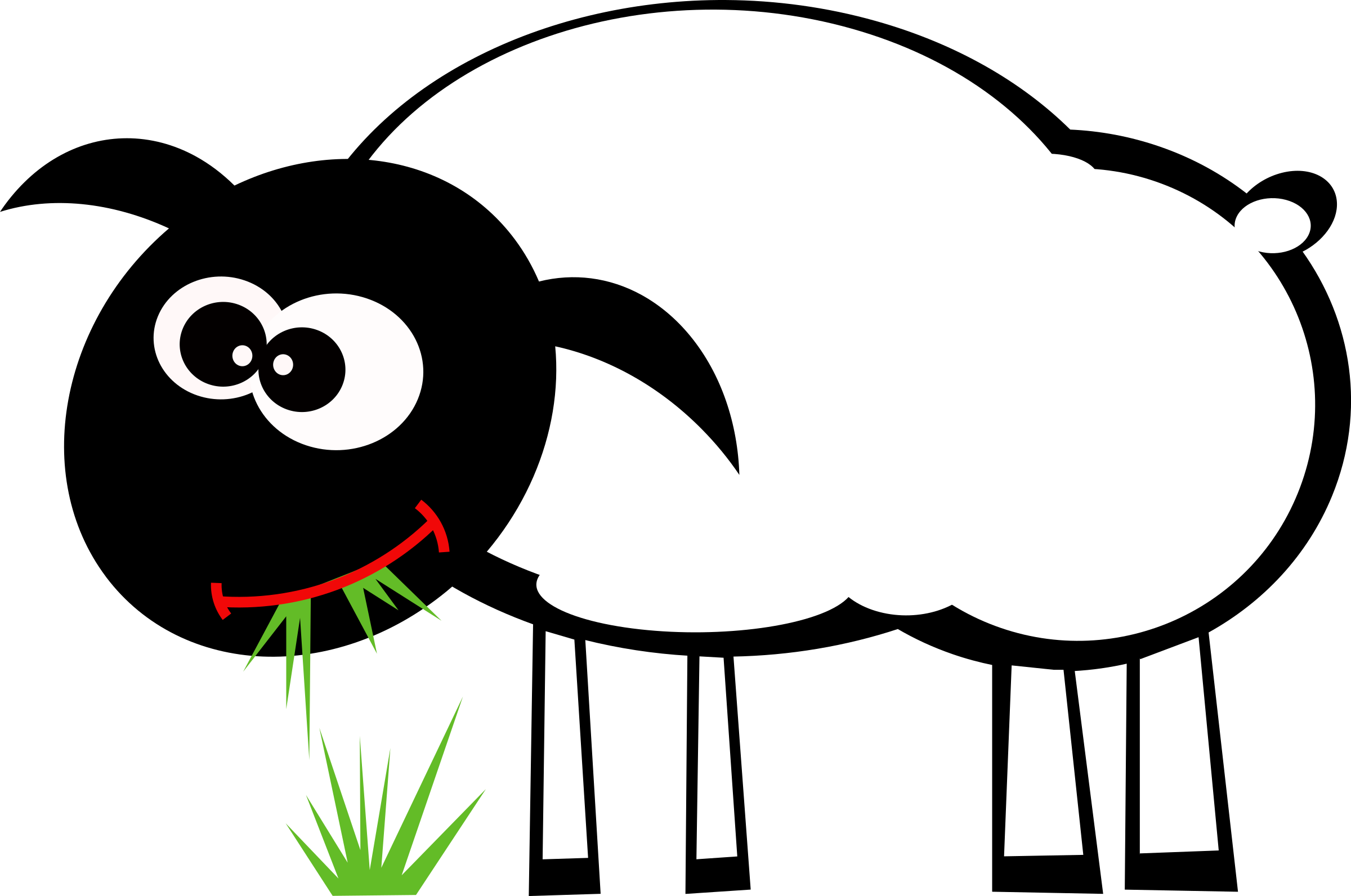 Clipart sheep colour.  collection of grazing