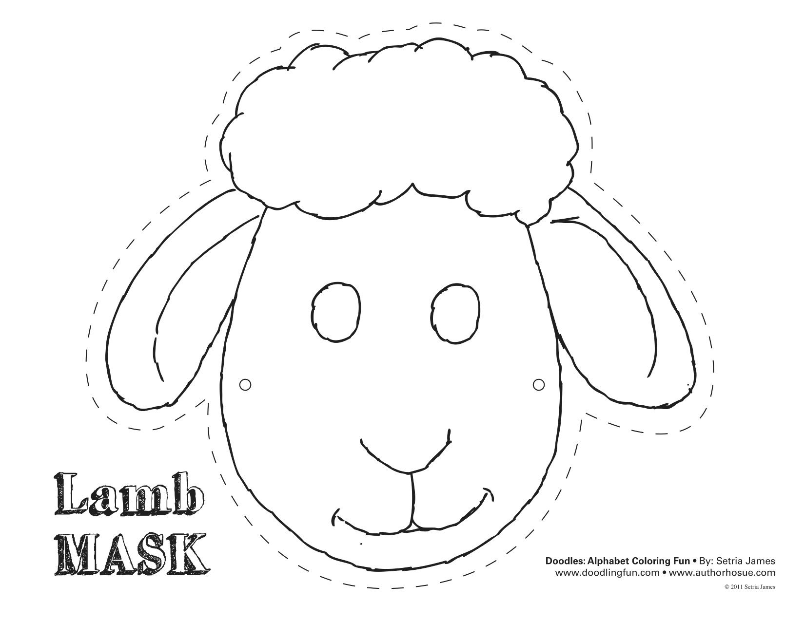 Clipart sheep craft. Templates pencil and in