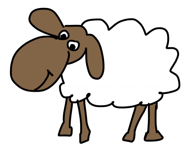 Cartoon Picture Of A Sheep Free Download Clip Art