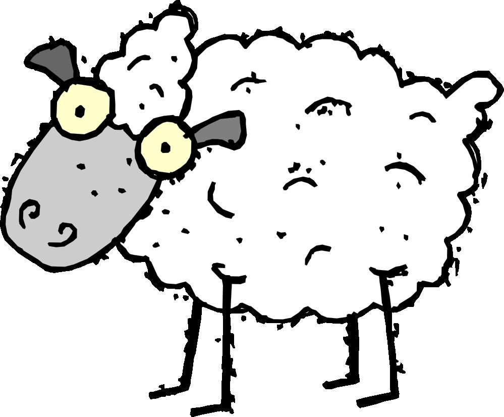 Clipartist net clip art. Sheep clipart skull