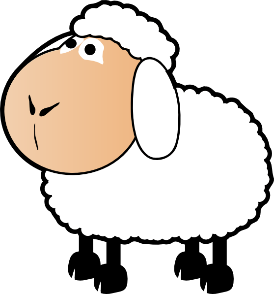 Lamb clipart realistic.  collection of sheep