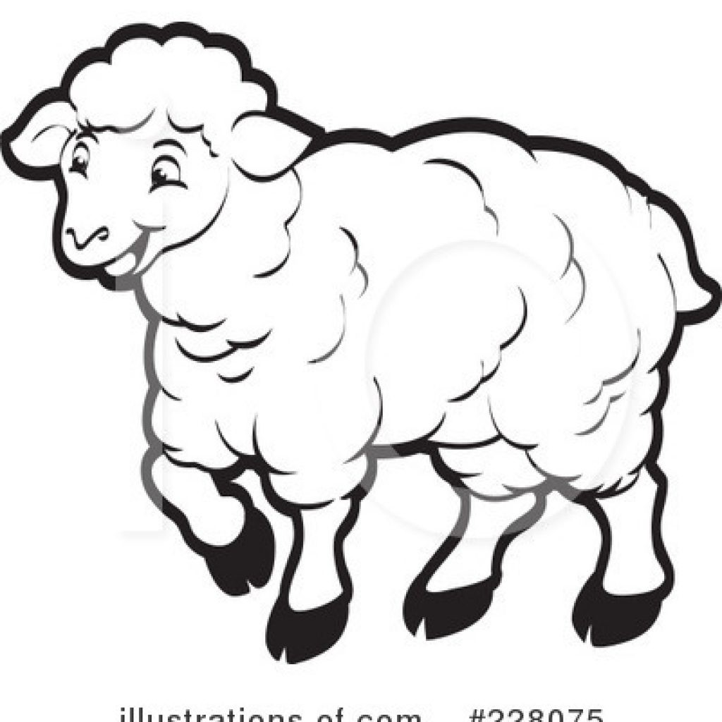 Simple drawing at paintingvalley. Lamb clipart draw