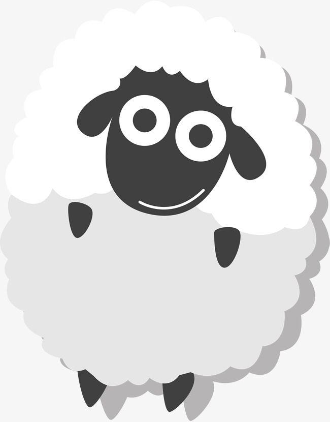 Al white lovely festival. Clipart sheep eid ul adha