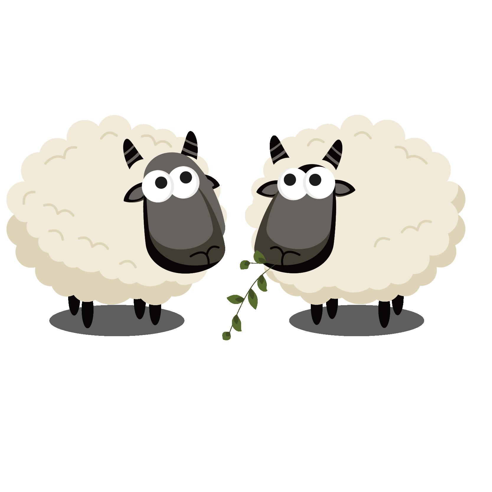 Clipart sheep eid ul adha. Al mubarak fitr vector