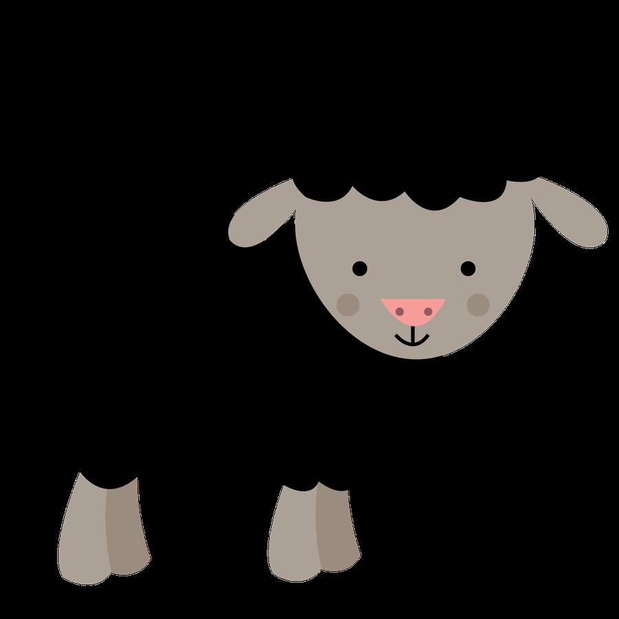 Clipart walking sheep. Fazenda minus clip art