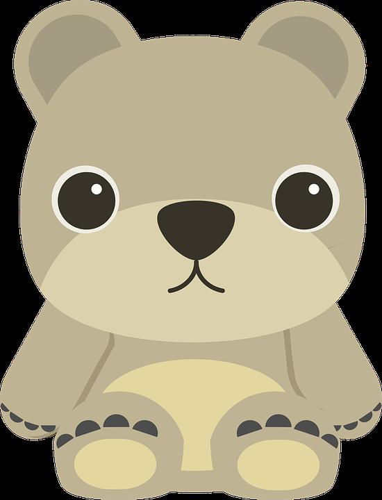 Cartoon wombat shop of. Naptime clipart beruang