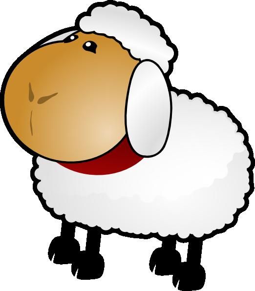 sheep clipart gambar #142390906