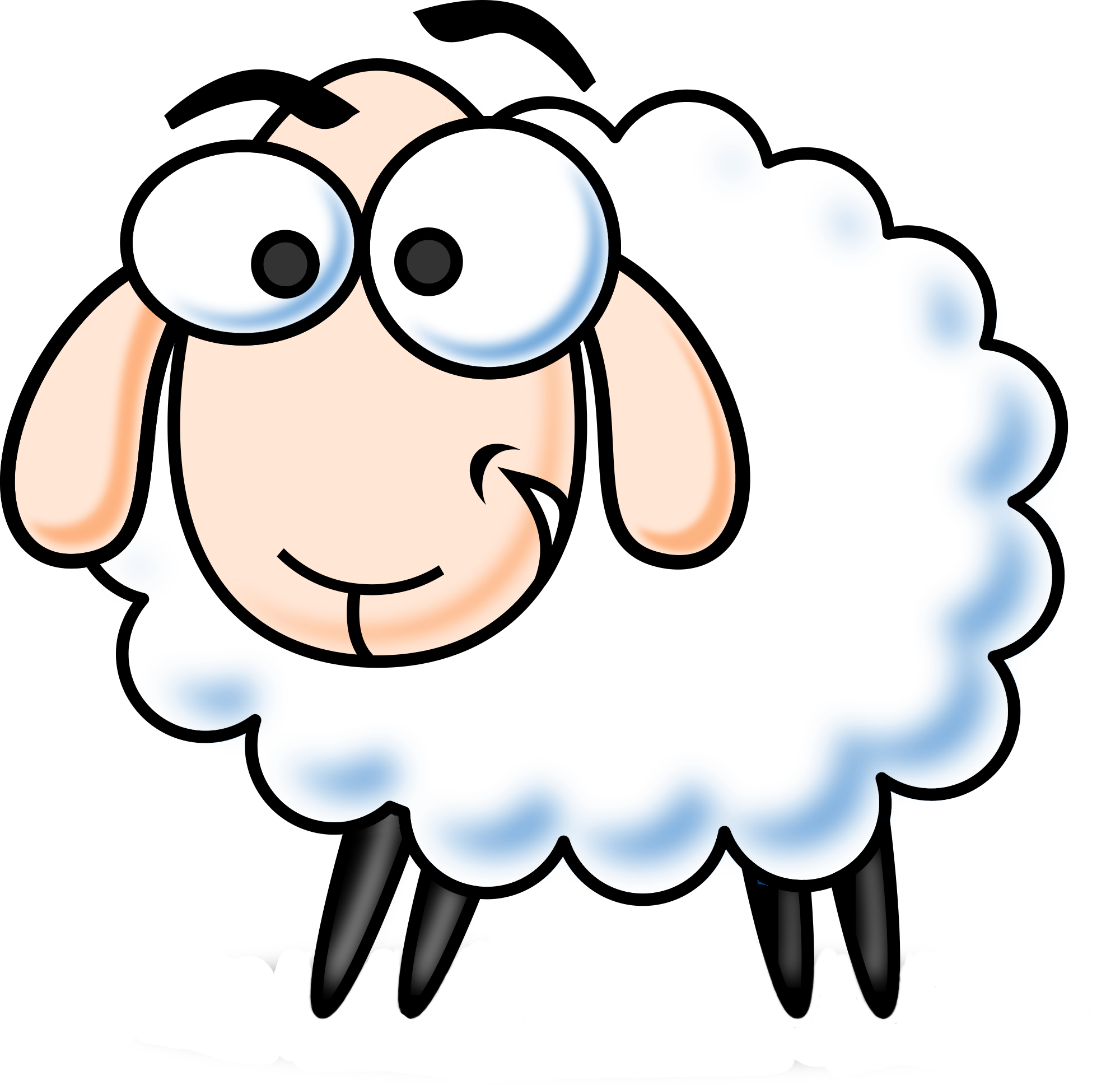 Lamb clipart religious. Sheep mommy free on