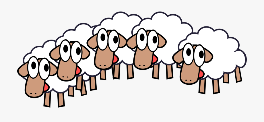 Lamb clipart sheep group. Of amp clip art