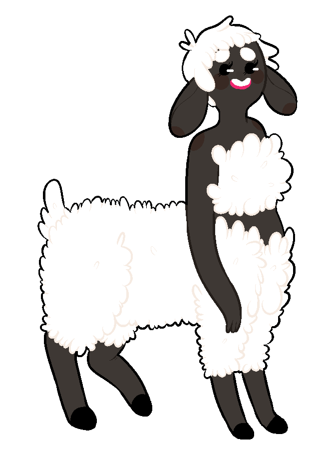 Haircut clipart sheep. Sheeptaur loretta by asktheflockprincess