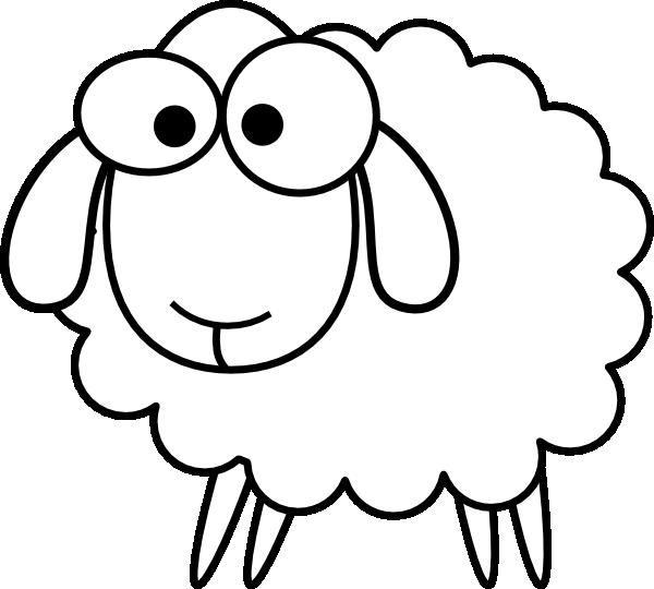 White clipart lamb. Sheep clip art at
