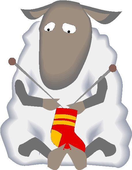 Clip art free sheepies. Clipart sheep knitting