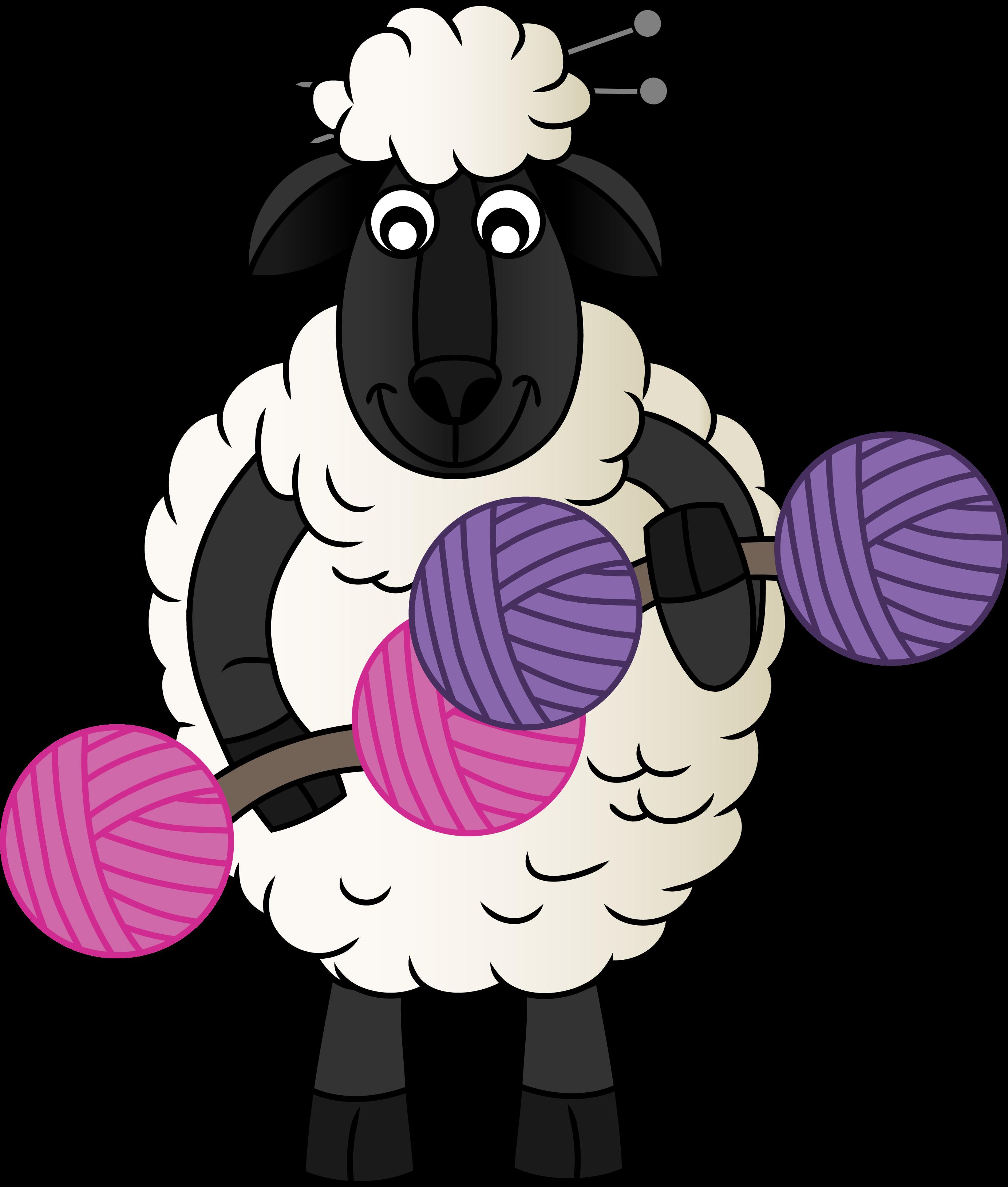 Clipart sheep knitting. Episode avila ridge knitical