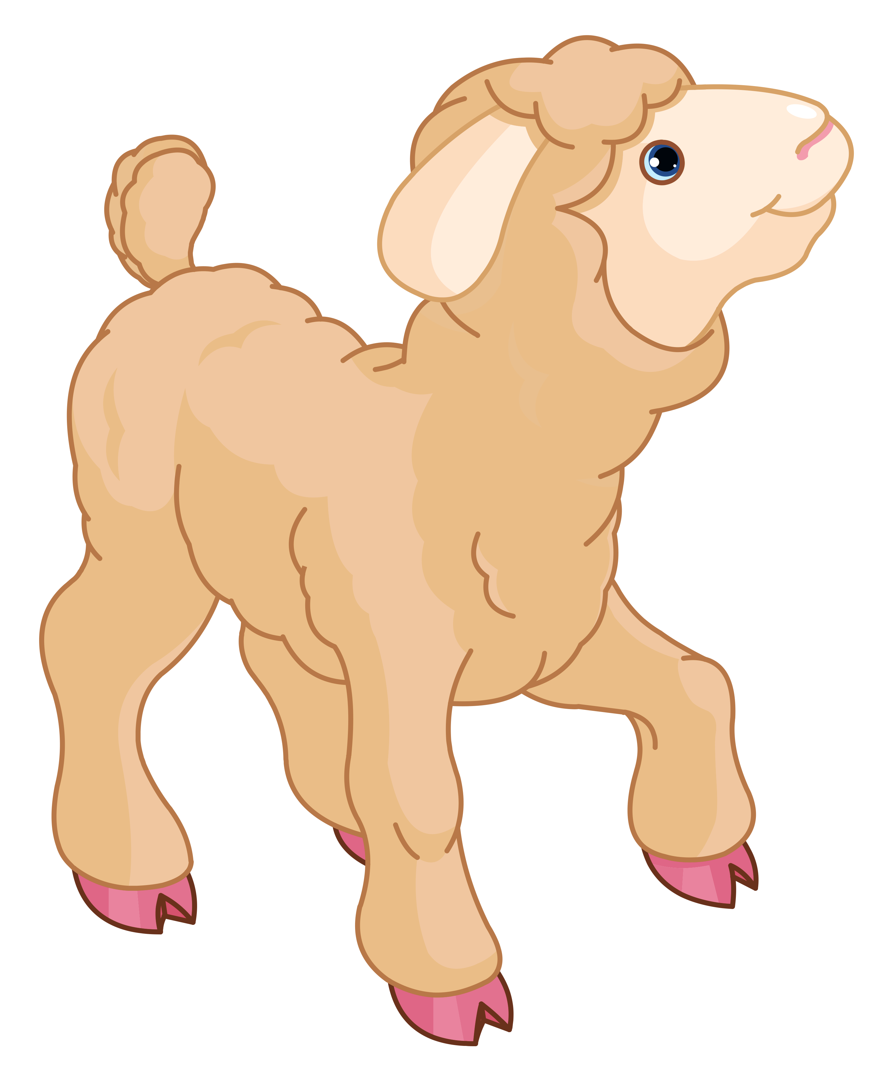 collection of sheep. God clipart transparent