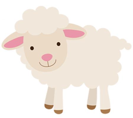 Lamb clipart little lamb. Cricuteering sheep drawing cute