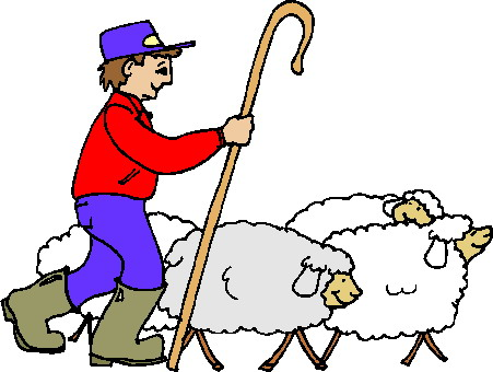 Clipart sheep man. Free images of download