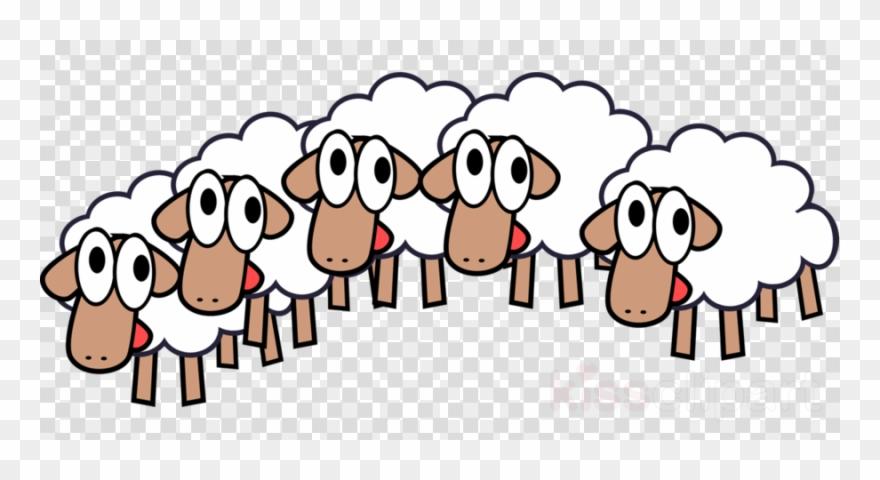 Download of sheep clip. Lamb clipart herd