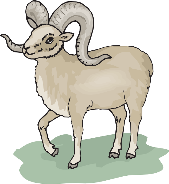 Lamb clipart scared. Free ram cliparts download