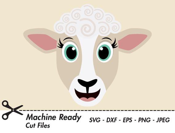 Clipart sheep printable. Cute svg cut files