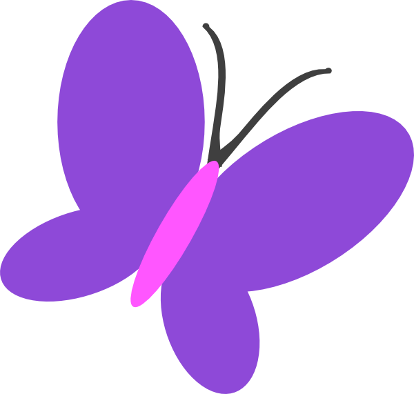 Number 3 clipart purple. Butterfly free collection download
