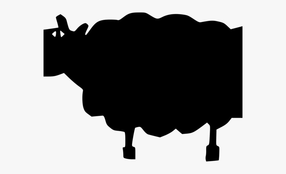 Transparent cartoon free . Clipart sheep shadow