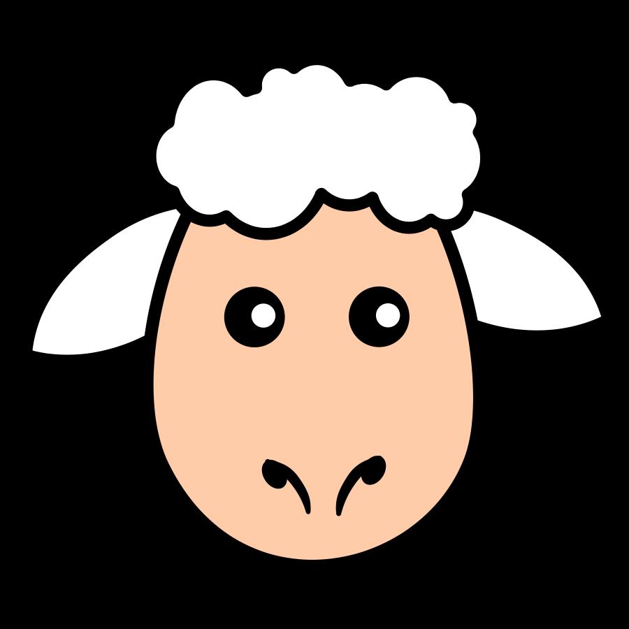 great jesus lamb. Photo clipart face