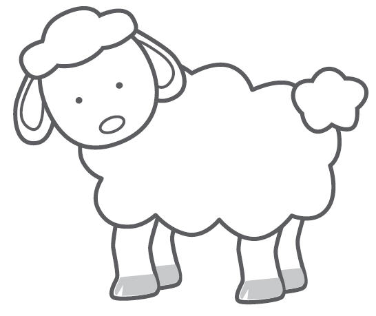 Free simple sheep cliparts. Lamb clipart outline