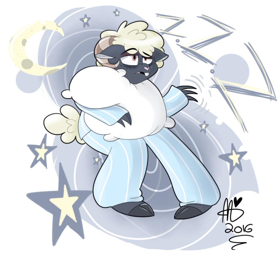 Clipart sheep sleepy sheep. Gregory horror show by