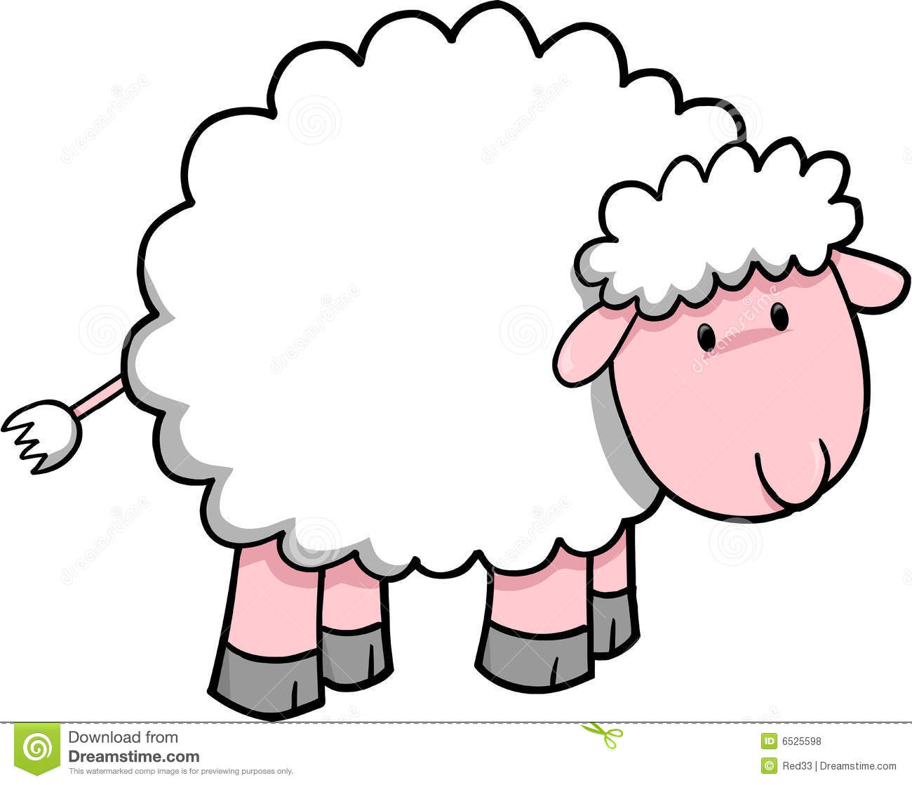 Sheep clipart fluffy sheep. Free download best