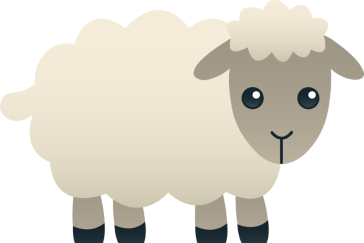 Wednesdays become a member. Clipart sheep wooly sheep