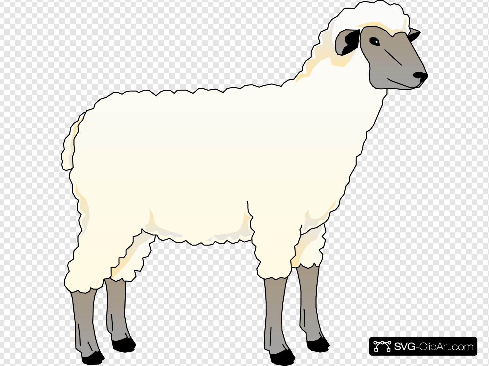 Clipart sheep wooly sheep. Clip art icon and