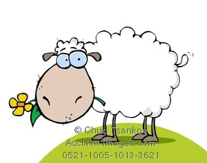 Clipart sheep wooly sheep. Image of a flower