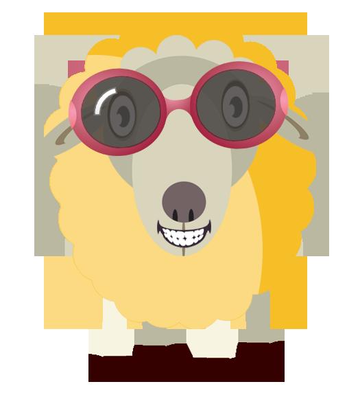 Joji s starting point. Clipart sheep yarn