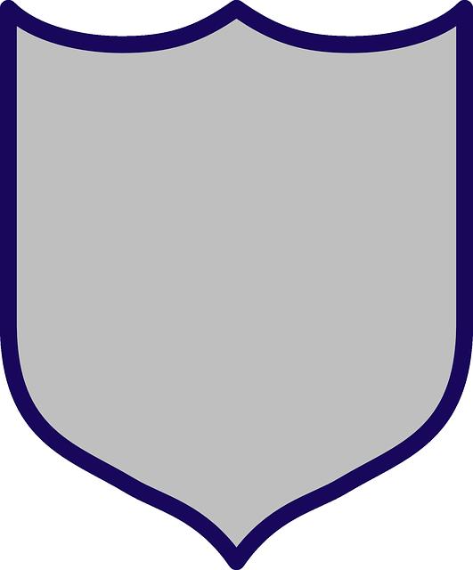Grey transparent . Clipart shield armor shield