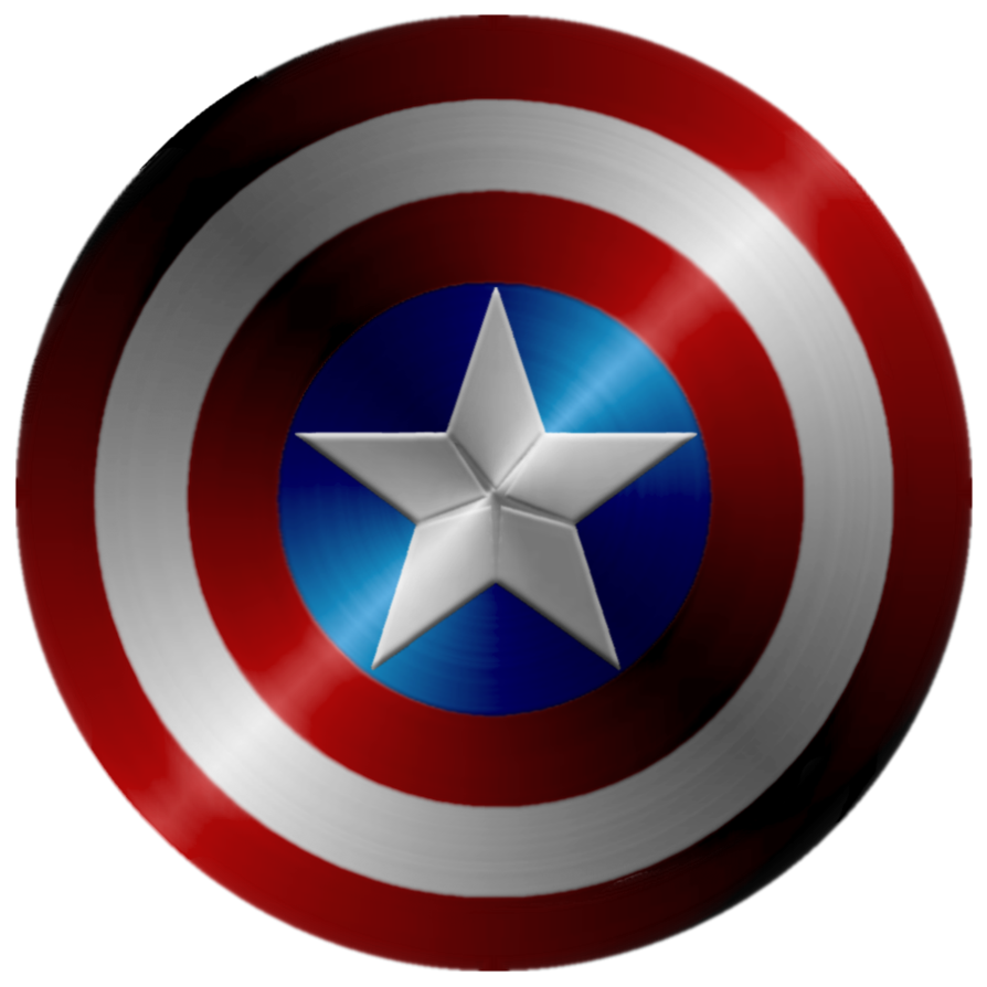 Clipart shield captain america. Redo by kalel on